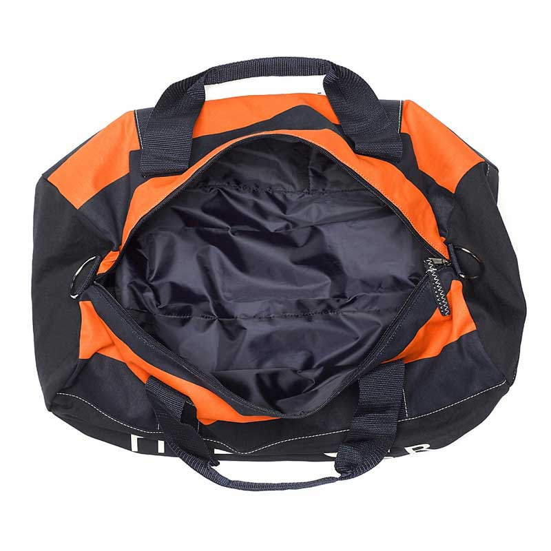 Geanta mare sport Tommy Hilfiger - navy orange - interior