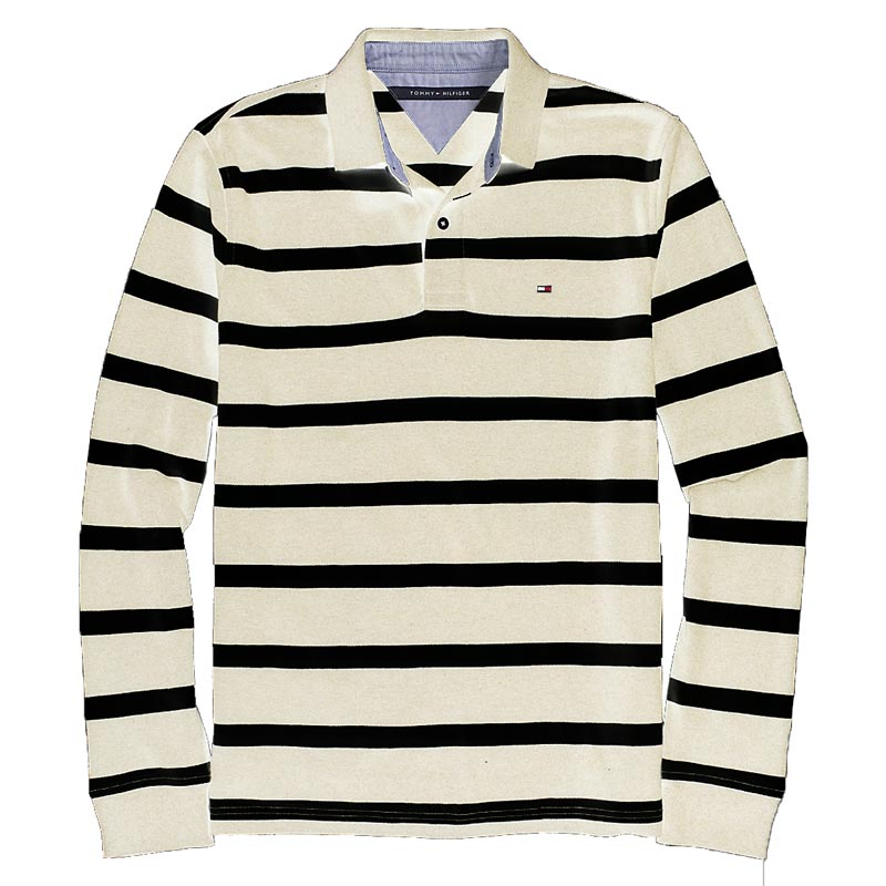 Tricou polo Tommy Hilfiger white navy