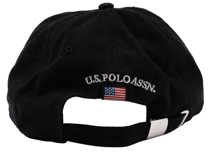 Sapca US Polo Association neagra - spate