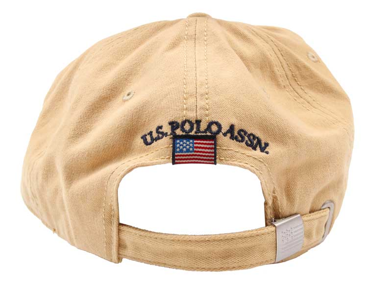 Sapca US Polo Association bej - spate