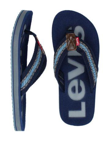 Papuci plaja Levi's Kyle Casual Royal Navy