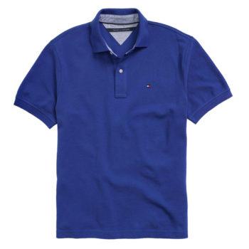 Tricou barbatesc Tommy Hilfiger clasic fit polo albastru