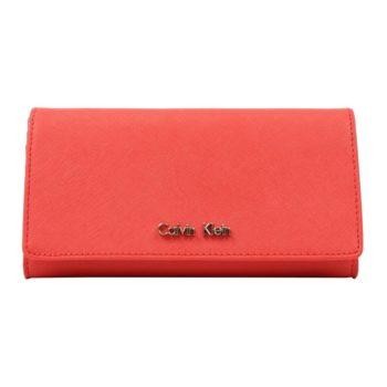 Portofel dama Calvin Klein Scarlett Flap Envelope Continental Wallet-4169
