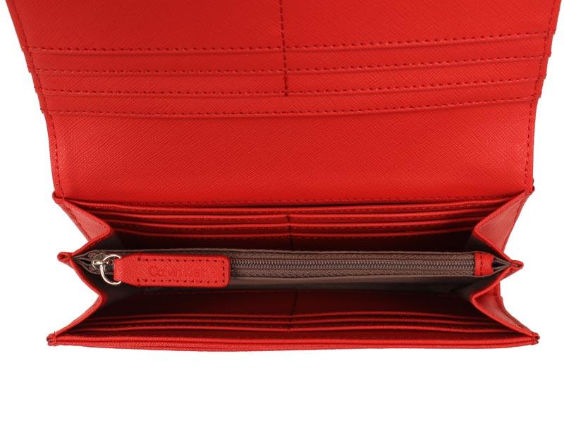 Portofel dama Calvin Klein Scarlett Flap Envelope Continental Wallet-4167