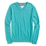 Pulover barbatesc Tommy Hilfiger Enamel Blue Heather
