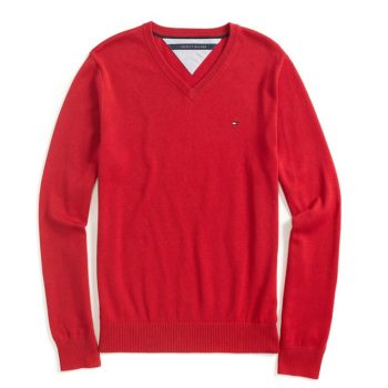 Pulover barbatesc Tommy Hilfiger Jester Red