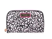 Geanta cosmetice tip portfard Victoria's Secret Large Beauty Bag print