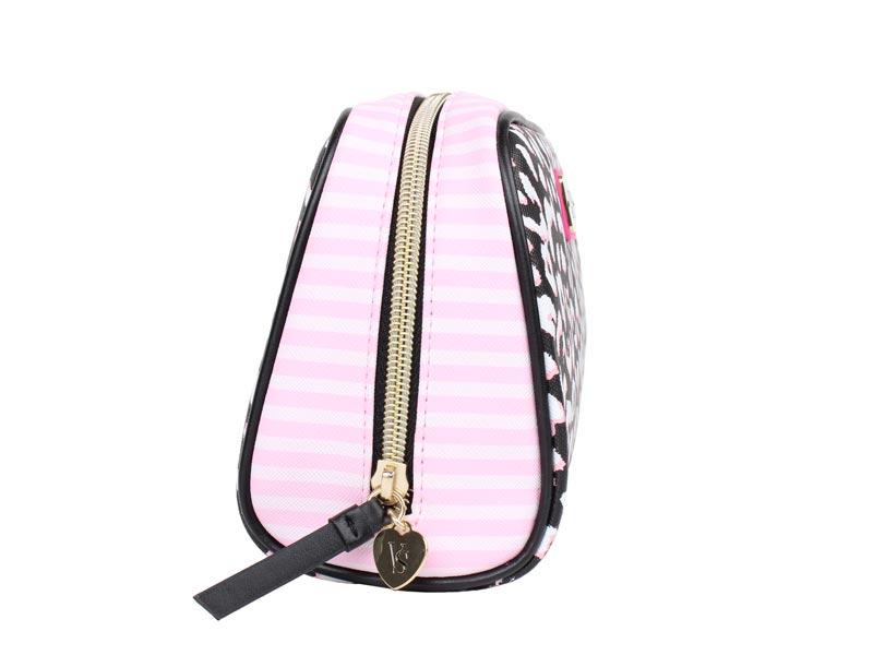 Geanta cosmetice tip portfard Victoria's Secret Large Beauty Bag print - laterala 1