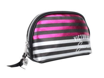 Geanta cosmetice tip portfard Victoria's Secret Beauty Bag - laterala