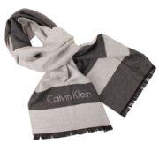 Esarfa Calvin Klein gri