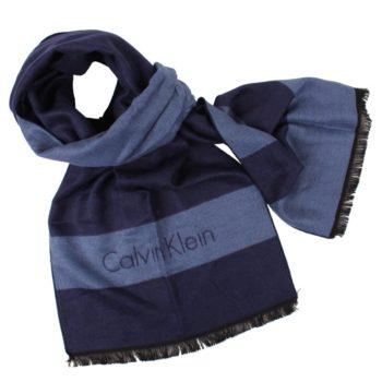Esarfa Calvin Klein bleumarin