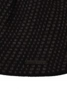 CK-mens-hat-diagonal-dash-black-front-detail