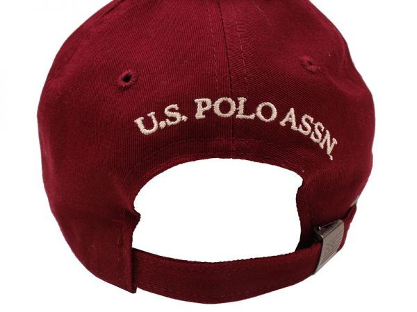 Sapca barbati US Polo Assn. burgundy