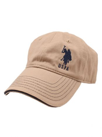 Sapca barbati US Polo Assn. khaki ABPE2992HM