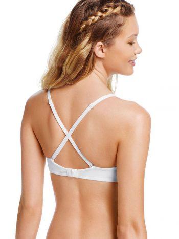 Sutien Victoria's Secret Pink MultiWay Push-up alb - model spate