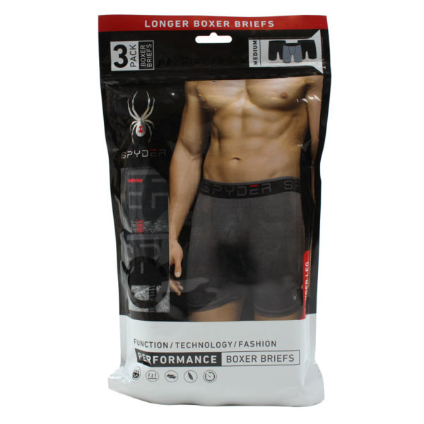 Set 3 perechi boxeri Spyder Longer Leg Boxer Brief